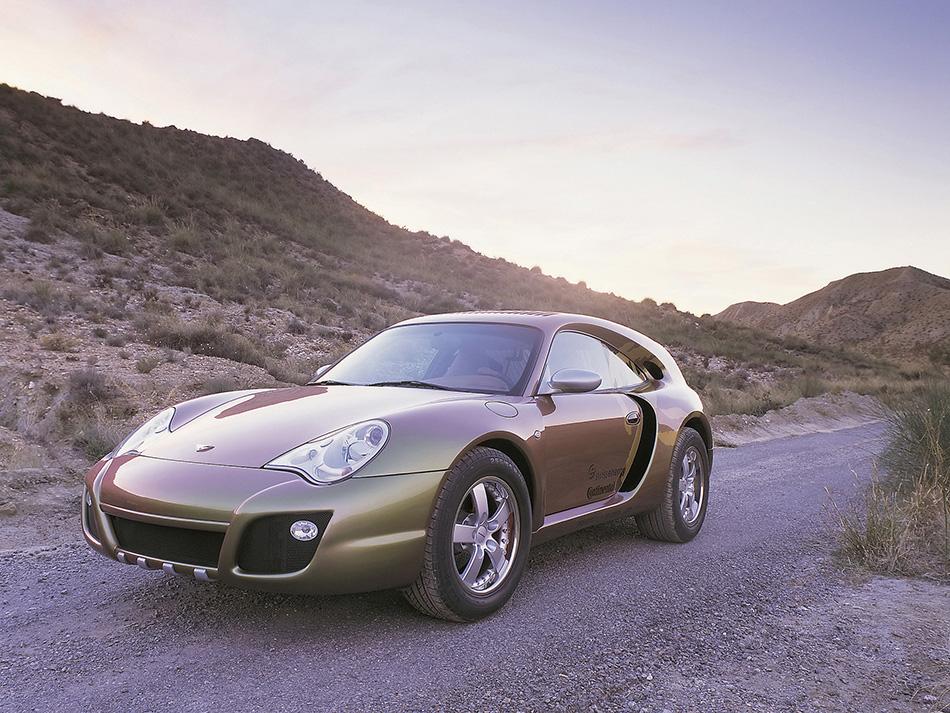 2003 Rinspeed Porsche 996 Bedouin Front Angle