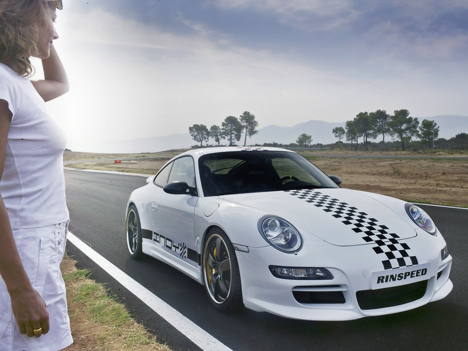 2006 Rinspeed Porsche 997 Carrera S Indy Front Angle