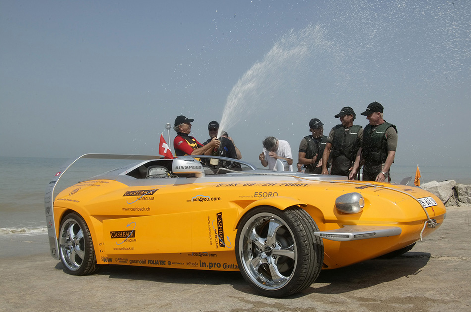 2006 Rinspeed Splash Channel Challenge Front Angle