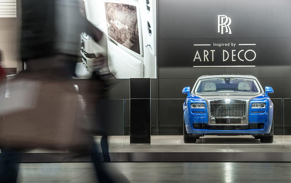 2013 Rolls-Royce Art Deco Phantom Front Angle