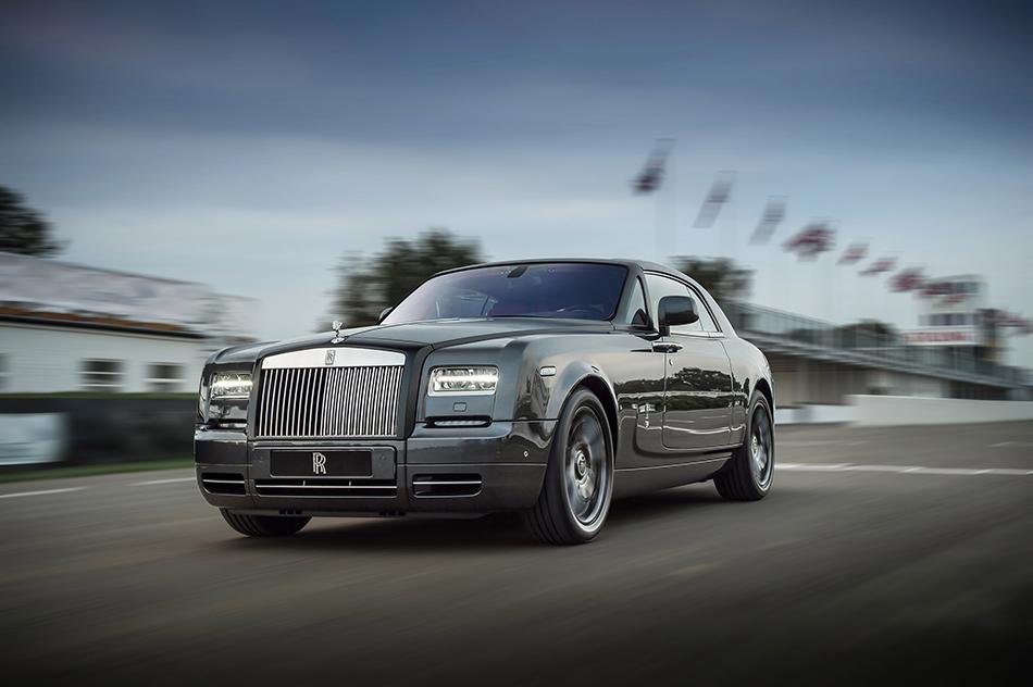 2014 Rolls-Royce Bespoke Chicane Phantom Coupe Front Angle