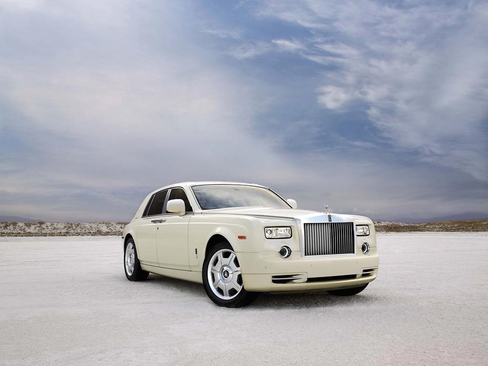 2009 Rolls-Royce Phantom Front Angle