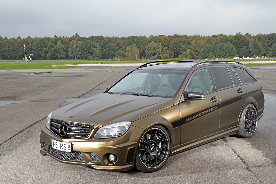 2013 SR-Performance Mercedes-Benz C63 AMG Front Angle