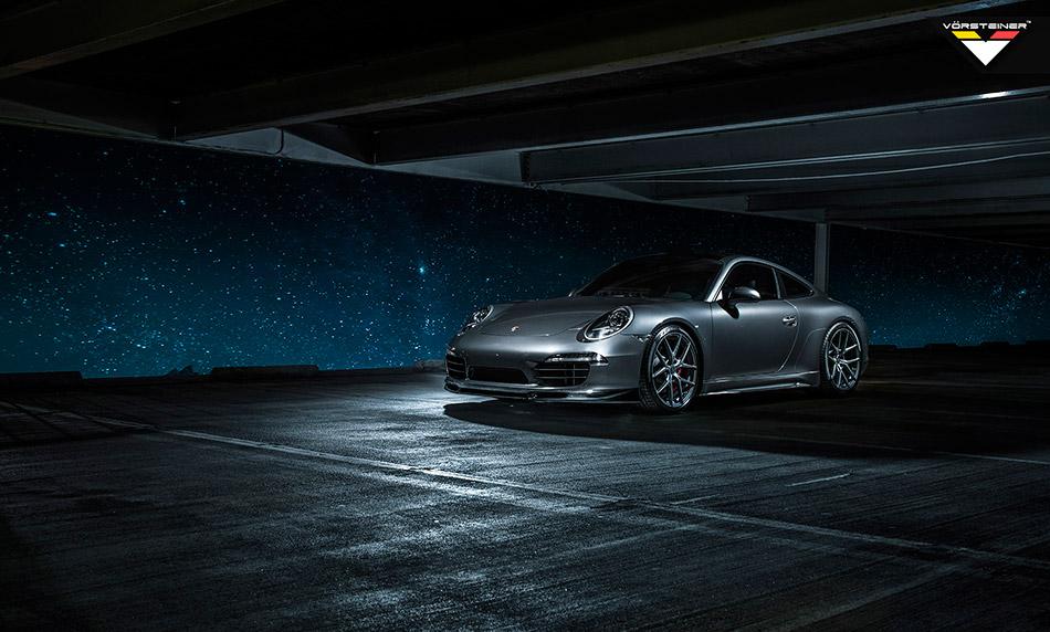 2013 Vorsteiner Porsche 991 V-GT Edition Carrera Front Angle
