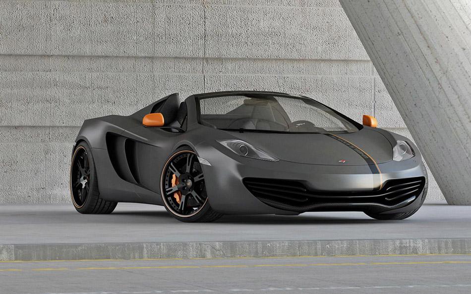 2013 Wheelsandmore McLaren MP 4-12 C Spider Front Angle