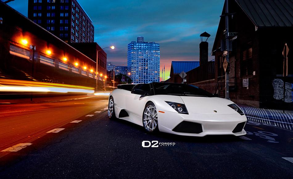 2013 D2Forged Lamborghini Murcielago LP 640 Front Angle