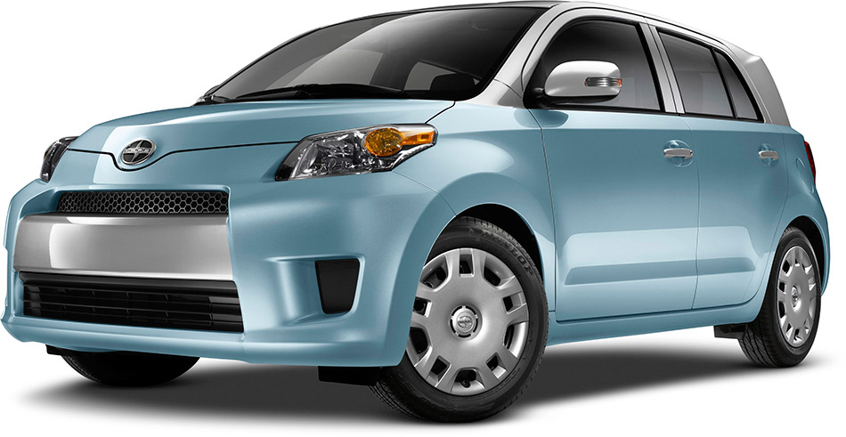 2014 Scion xD Two Tone Front Angle