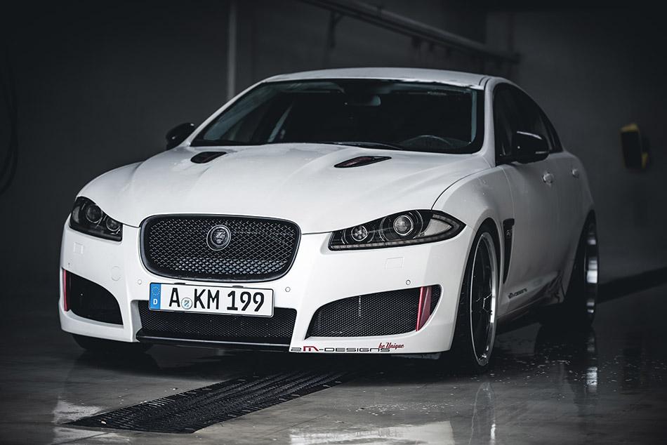 2013 2M-Designs Jaguar XF Front Angle