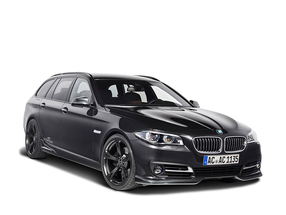 2013 AC Schnitzer BMW 5 series Touring LCI Front Angle