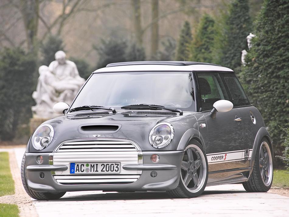 2003 AC Schnitzer Mini Cooper S Front Angle