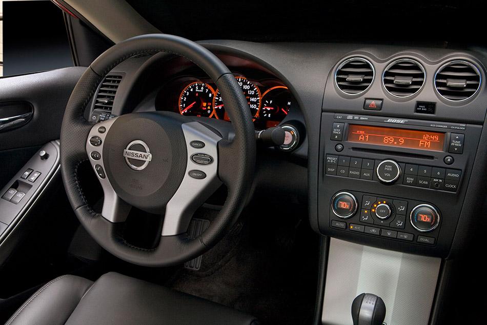 2009 Altima Coupe Interior