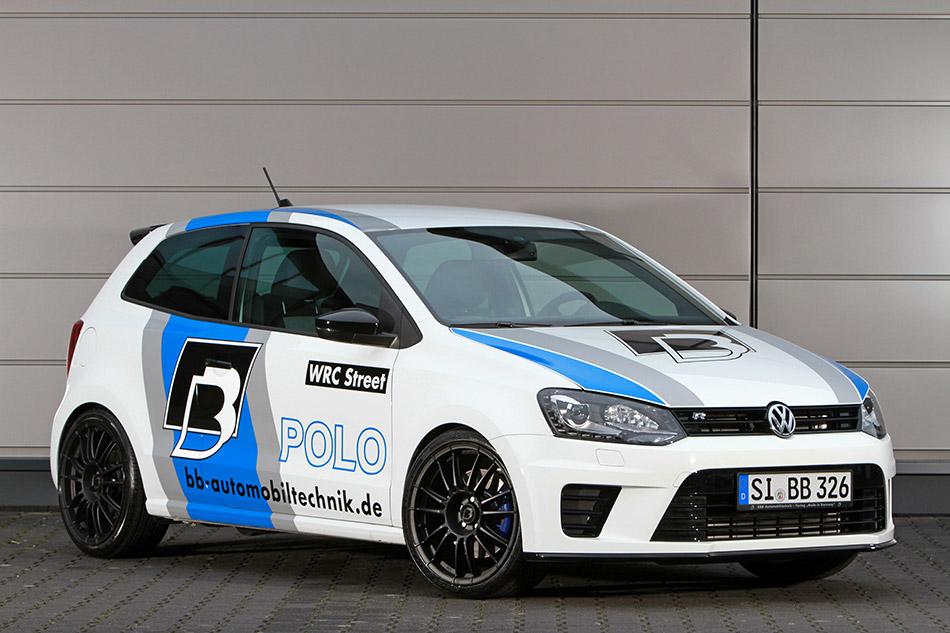2013 B&B Volkswagen Polo R WRC Street 2.0 TSI Front Angle