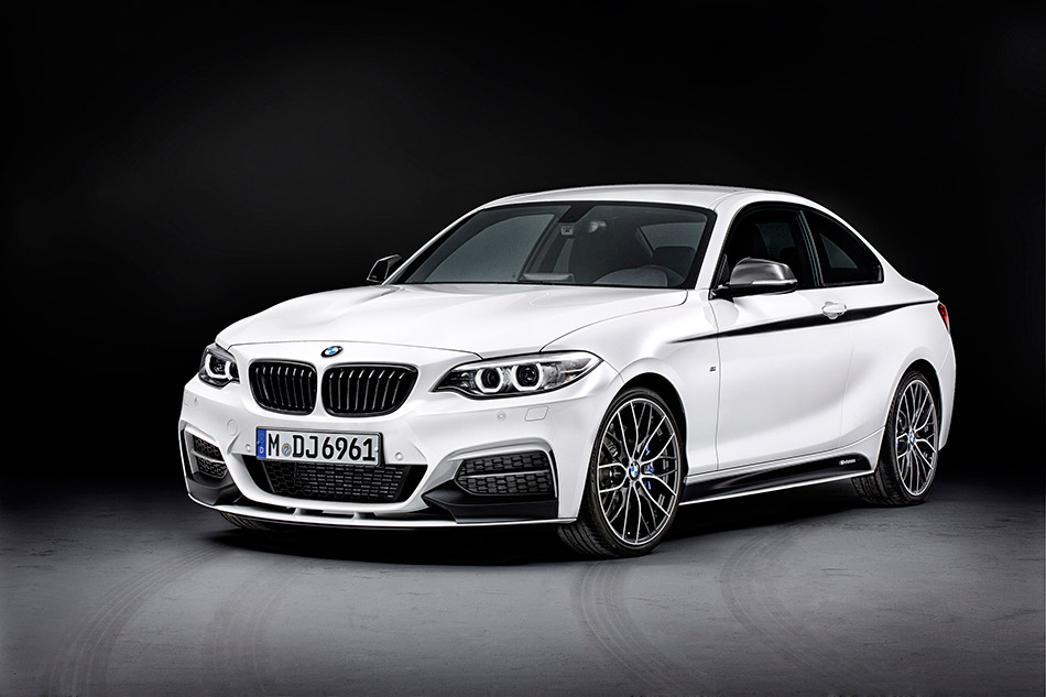 2014 BMW M235i Coupe Front Angle