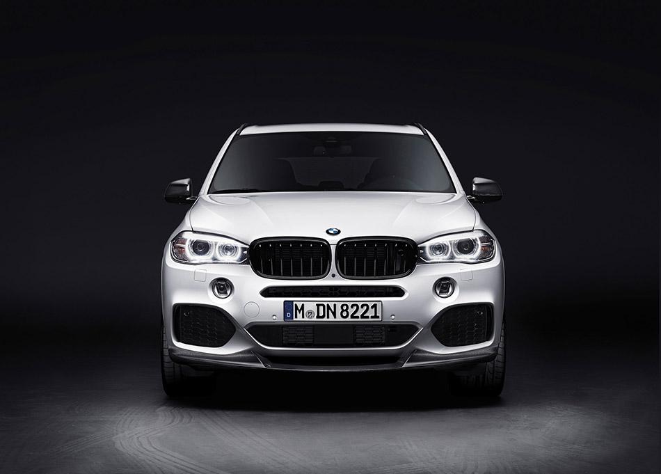 2014 BMW X5 M35i xDrive Front Angle