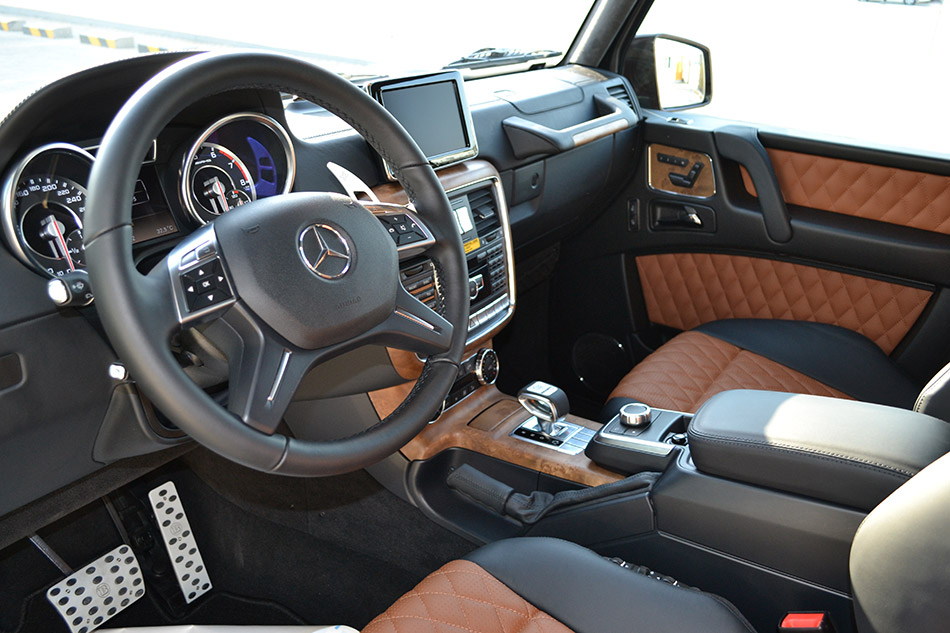 2013 Brabus Mercedes-Benz B63S 700 Widestar Interior