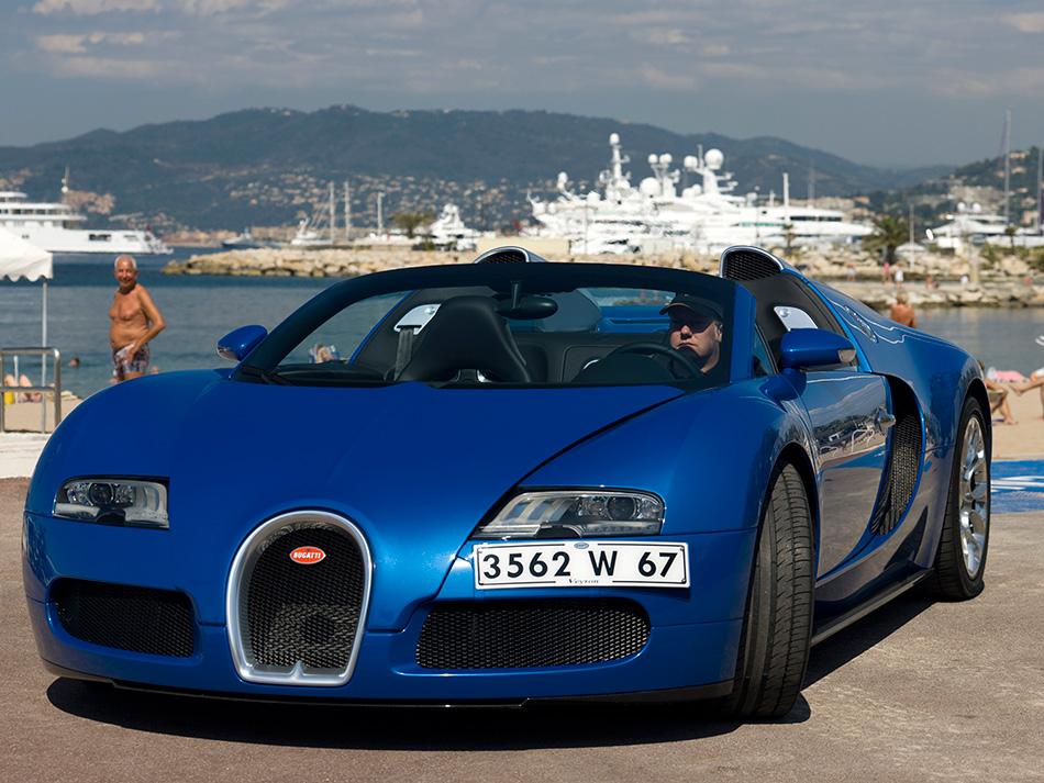 2009 Bugatti Veyron 16.4 Grand Sport Cannes