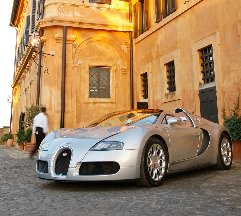 Bugatti Sport: 2010 Bugatti Veyron 16.4 Grand Sport Rome
