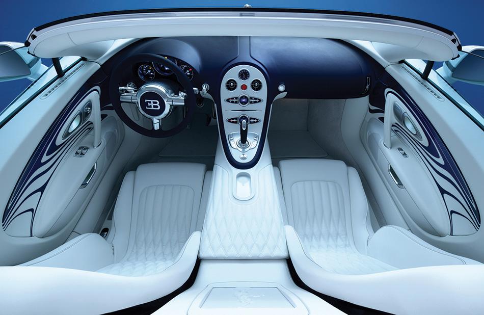 2011 Bugatti Veyron Grand Sport L'Or Blanc Interior