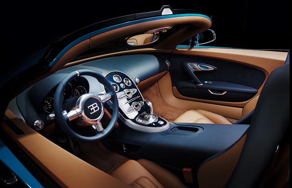 2013 Bugatti Veyron Meo Costantini Interior