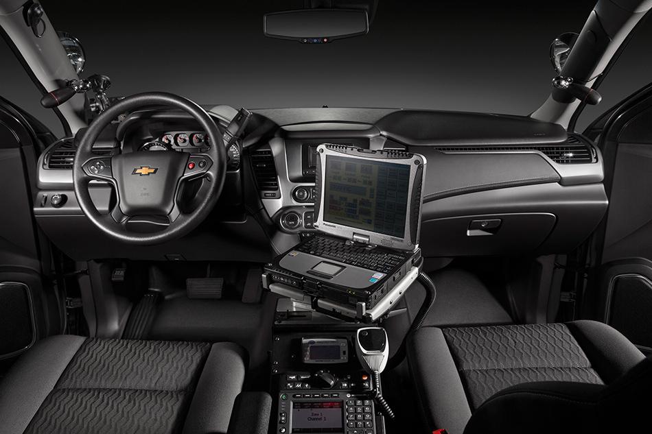 2015 Chevrolet Tahoe Police Concept Interior