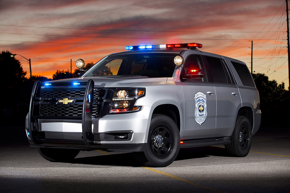 2015 Chevrolet Tahoe Police Concept Front Angle