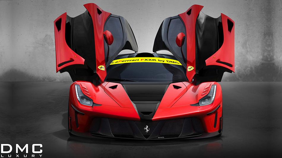 2013 DMC Ferrari LaFerrari FXXR Front Angle