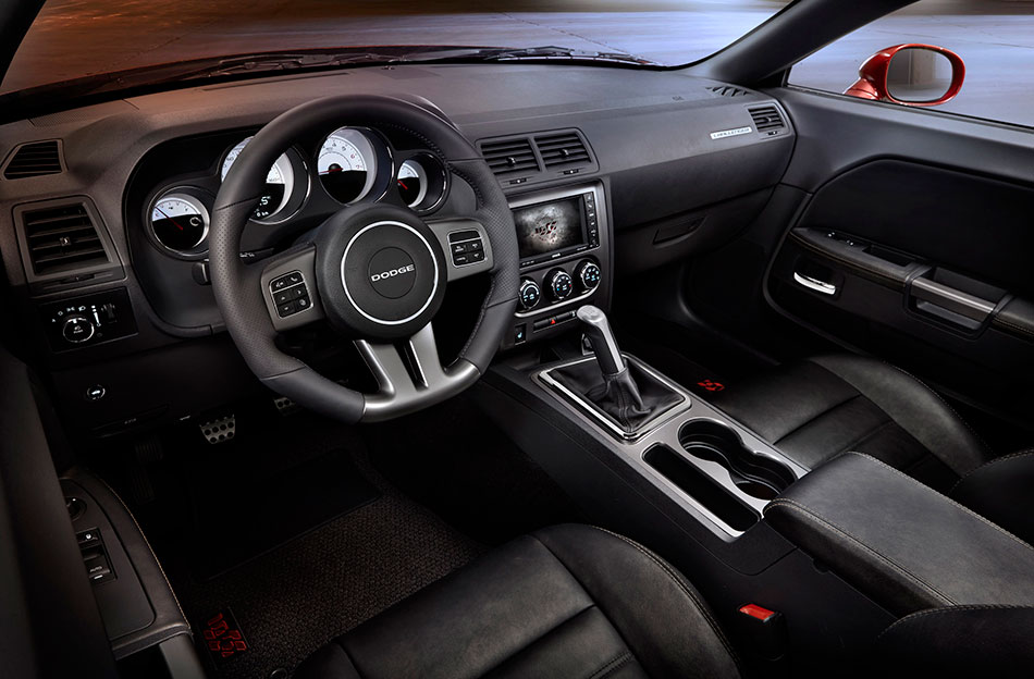 2014 Dodge Challenger 100th Anniversary Edition Interior