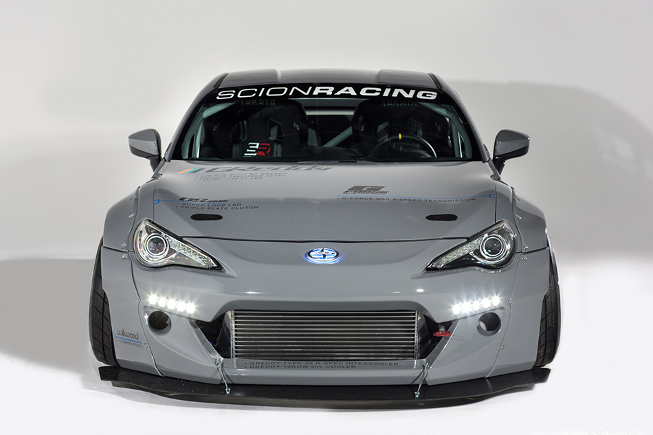 2014 GReddy Scion FR-S Racing Front Angle