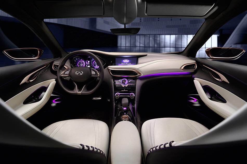 2014 Infiniti Q30 Concept Interior
