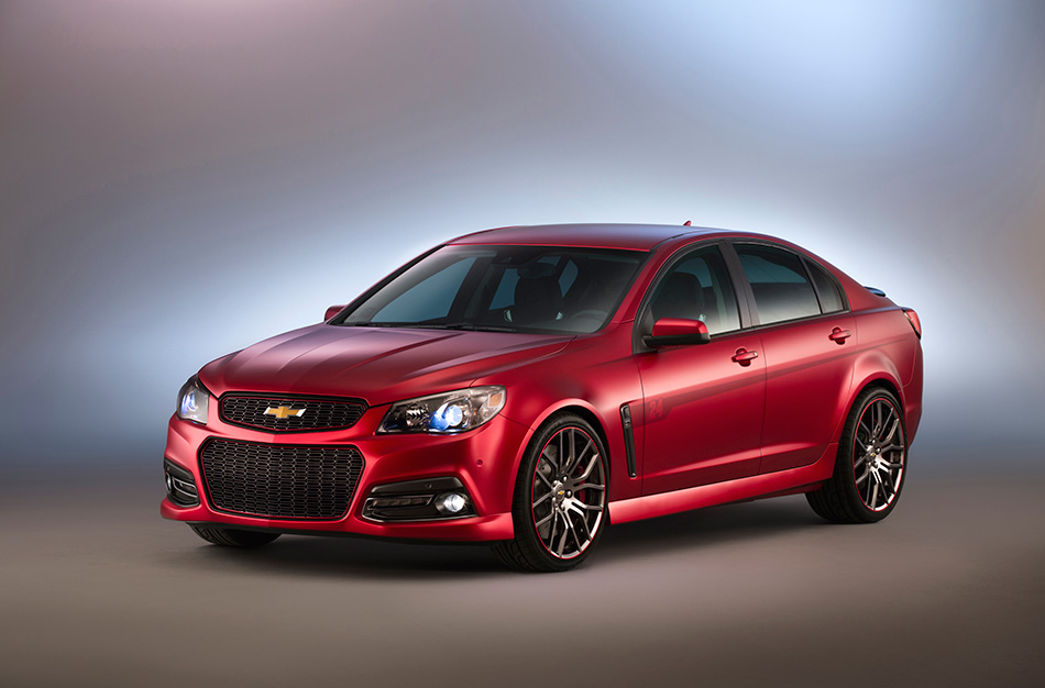 2014 Jeff Gordon Chevrolet SS Performance Sedan Concept