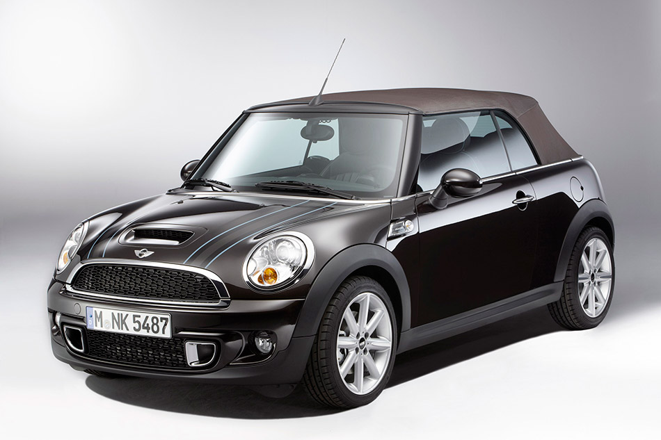 2012 MINI Convertible Highgate Front Angle