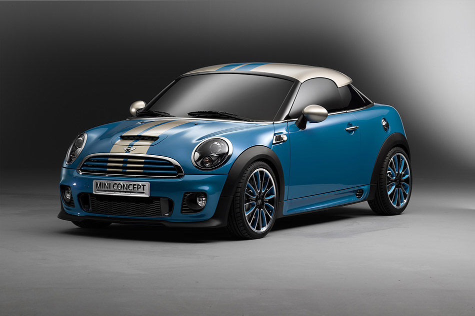 2009 MINI Coupe Concept Front Angle