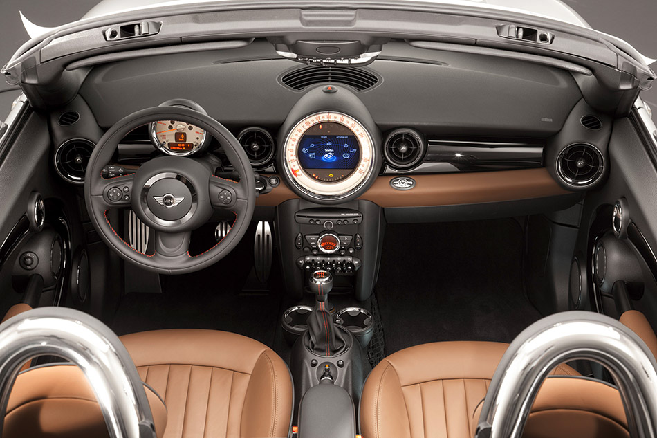 2012 MINI Roadster Interior