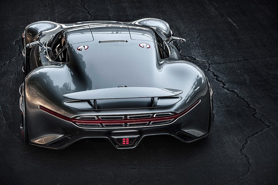 2015 Mercedes-Benz AMG Vision Gran Turismo Rear Angle