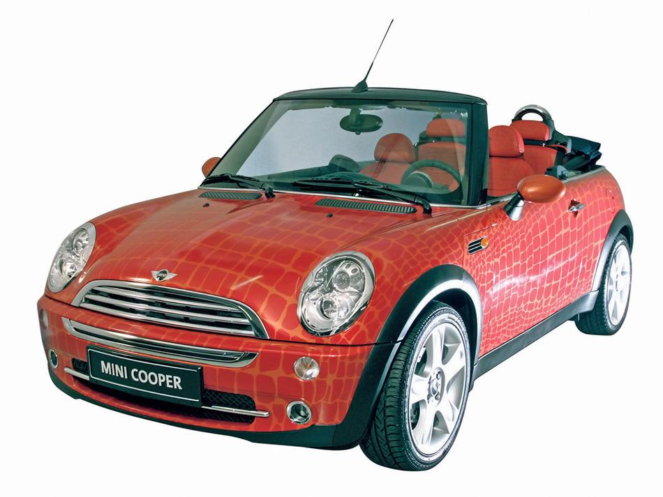 2005 Mini Convertible Gianfranco Ferre Front Angle
