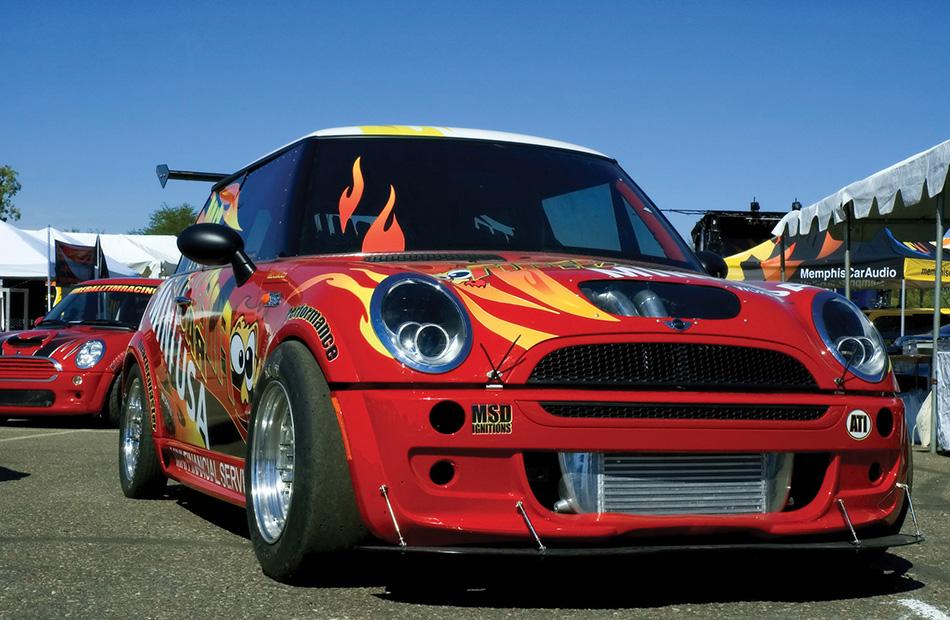 2005 Mini Fireball Tim Racing Dragster Front Angle