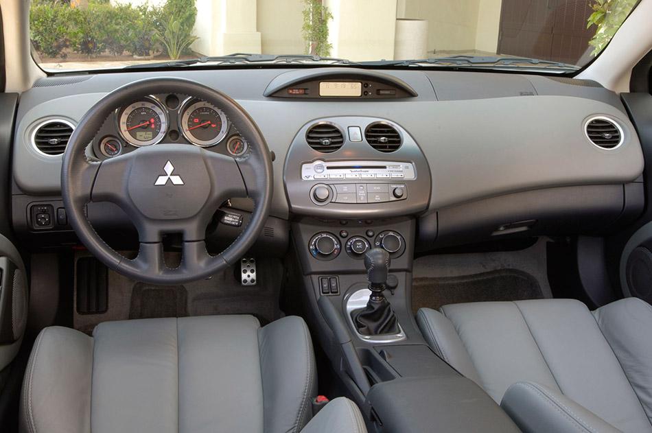 2009 Mitsubishi Eclips Coupe GT Interior