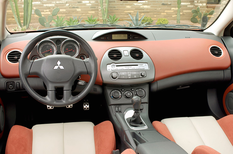 2008 Mitsubishi Eclipse Coupe Interior
