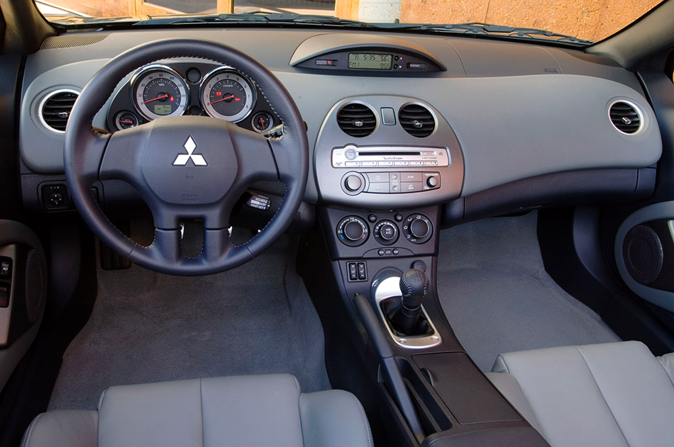 2008 Mitsubishi Eclipse Spyder Interior