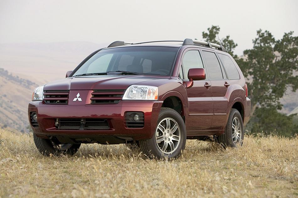 2005 Mitsubishi Endeavor Front Angle