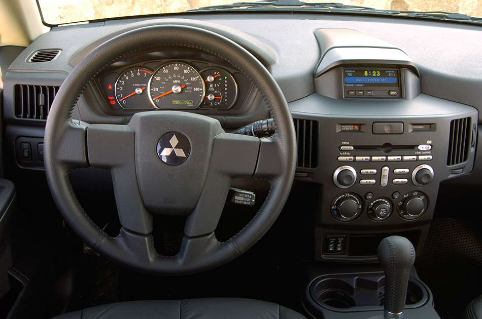 2006 Mitsubishi Endeavor Interior