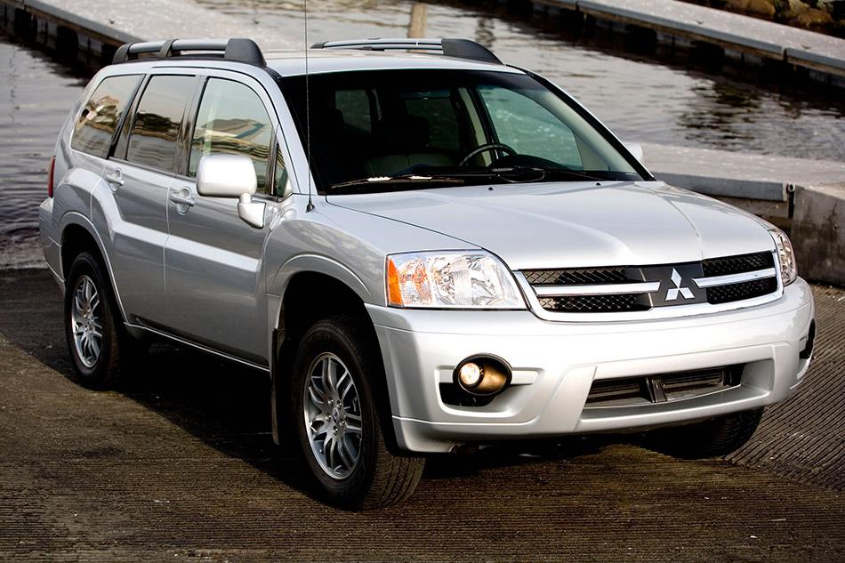 2007 Mitsubishi Endeavor Front Angle