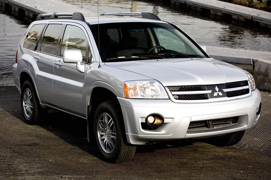2008 Mitsubishi Endeavor Front Angle