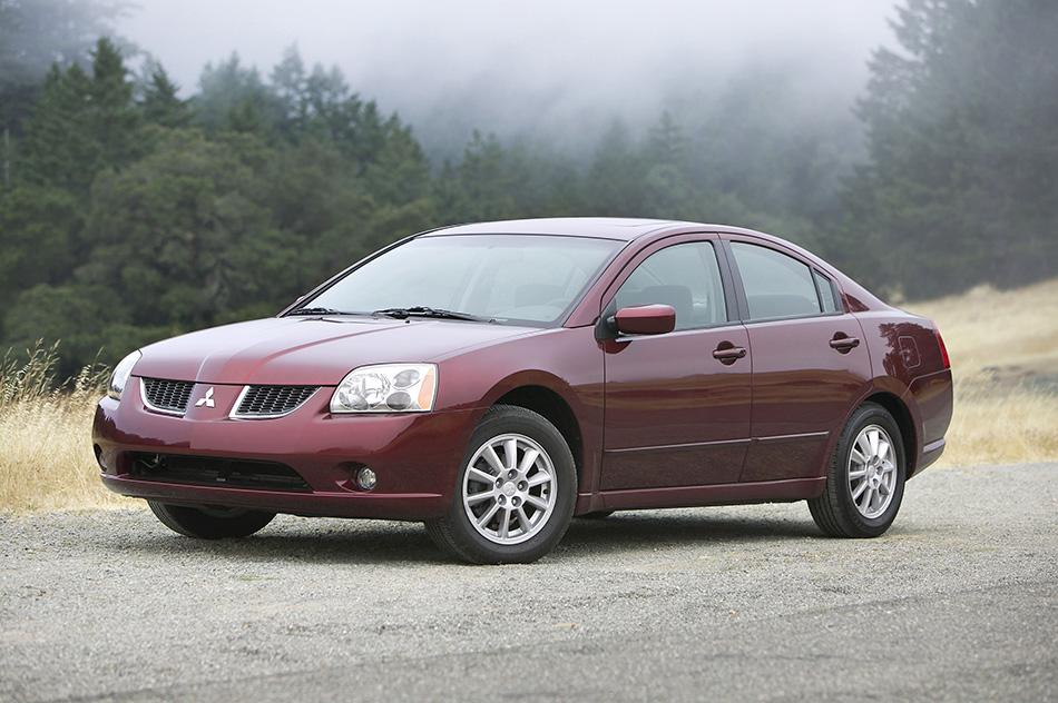2005 Mitsubishi Galant Front Angle