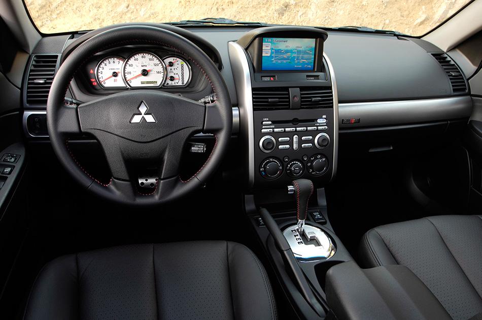 2008 Mitsubishi Galant Interior
