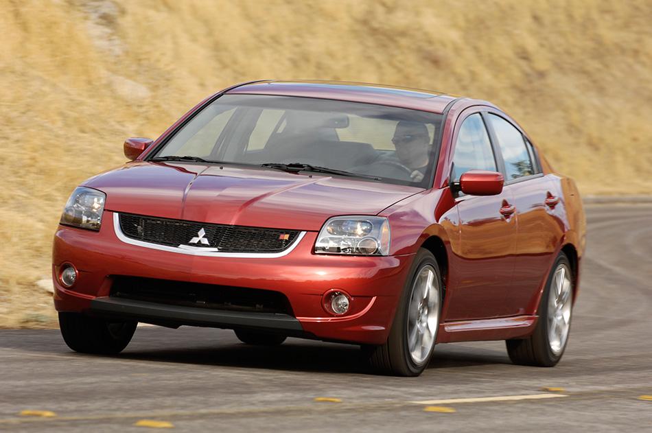 2008 Mitsubishi Galant Front Angle