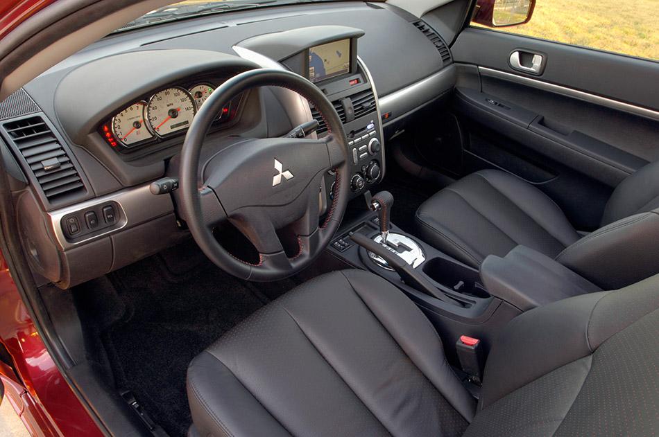 2007 Mitsubishi Galant Ralliart Interior