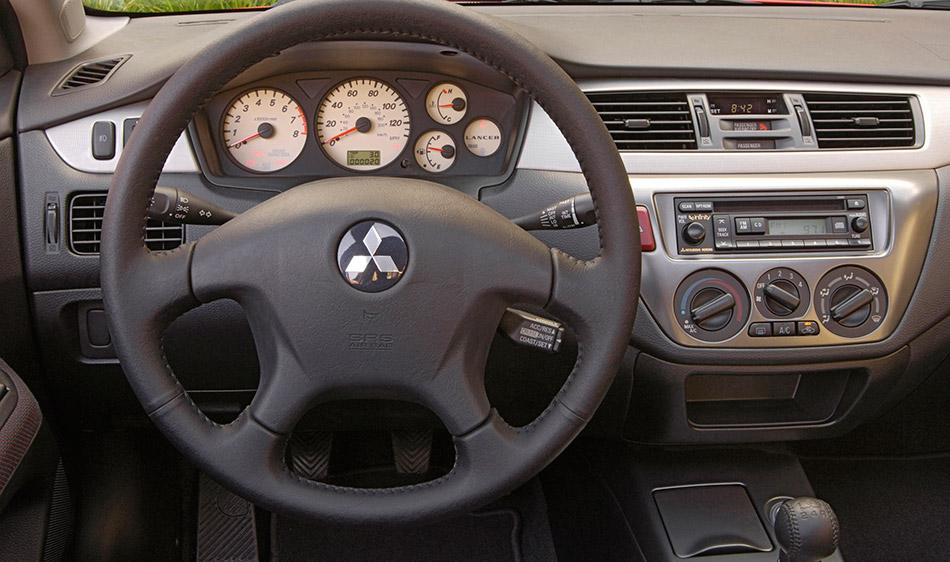 2006 Mitsubishi Lancers Interior