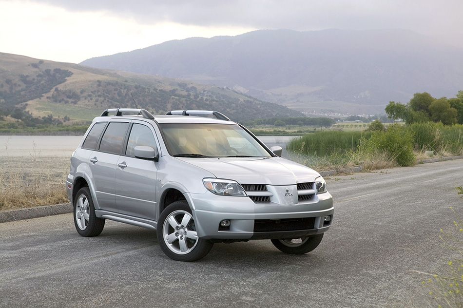 2005 Mitsubishi Outlander Hd Pictures Carsinvasion Com