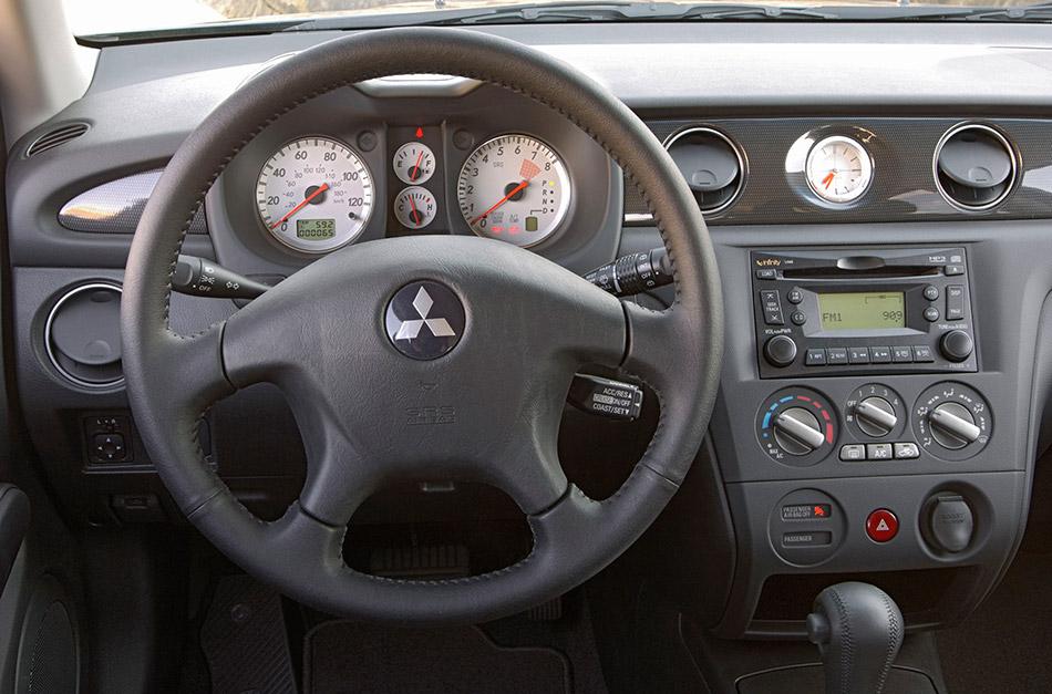 2006 Mitsubishi Outlander Interior